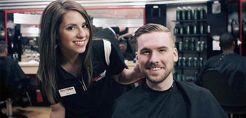 Sport Clips Haircuts of Poway​ stylist hair cut